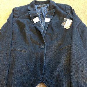 The Limited Blue Blazer